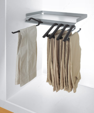 Pants Rack & Shelf Combo