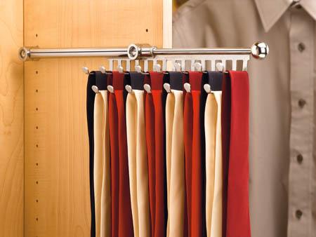 Rev-A-Shelf Sliding Tie Rack