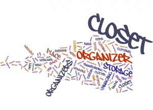 Closet Organizers Bringing Order To Messy Closets Concept