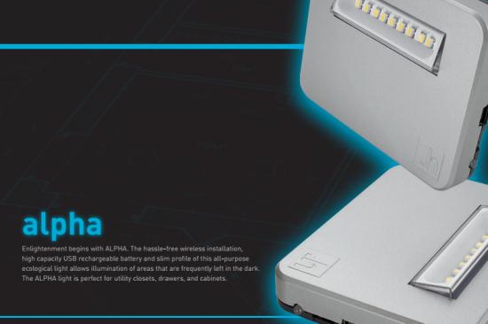 Alpha Wireless Closet Light