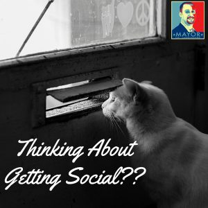 Thinking about getting social